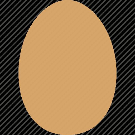 bird, brown, chicken, egg, eggshell, food, laid icon