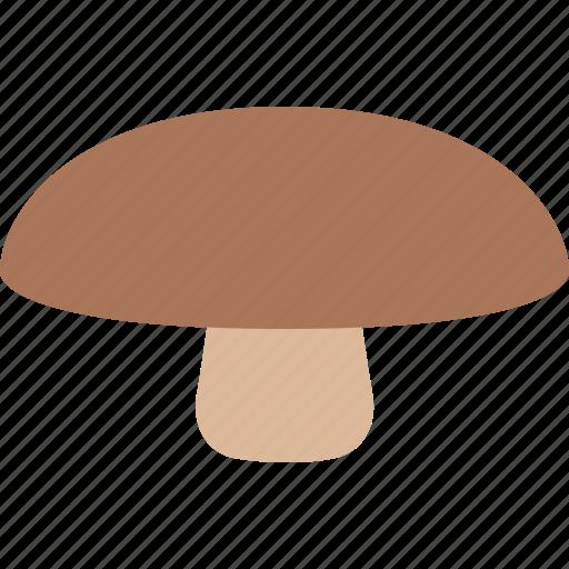 fungus, mushroom, portabella, portabello, portobello, toadstool icon