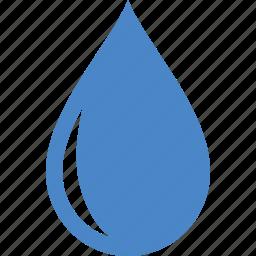 aqua, color, dew, droplet, rain, raindrop, water icon