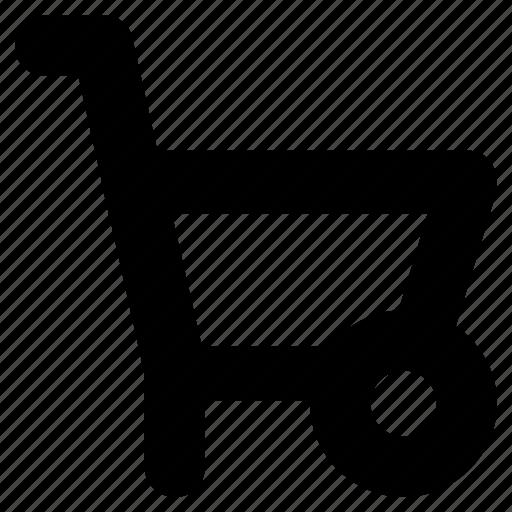 barrow, cart, construction, trolley, wheelbarrow icon