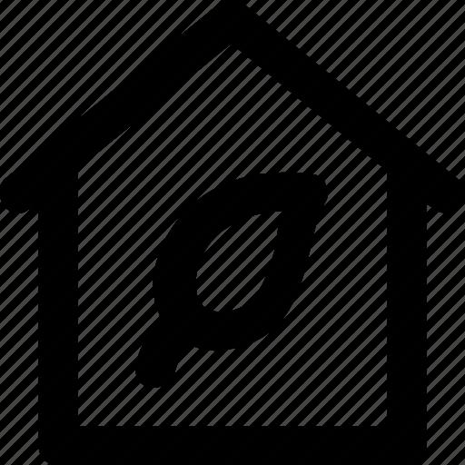 eco, eco house, green house, home, house icon