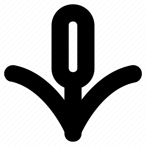 bullrush, cattail, plant, reed, sedge icon