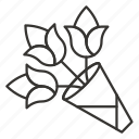 bouquet, ecology, flower, flowers, nature, plant icon