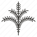 branch, leaves, nature, plant, tree icon