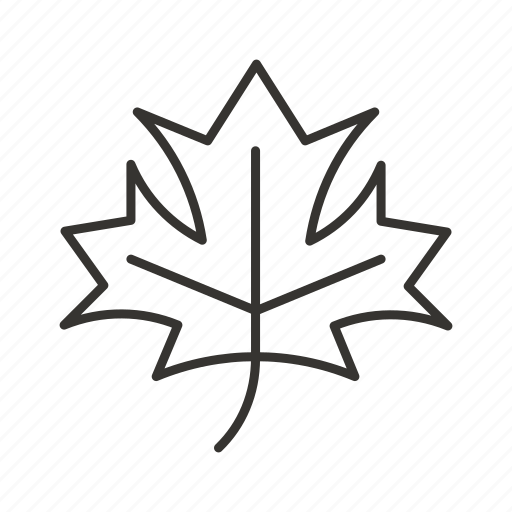 canada, green, leaf, maple, nature, plant icon