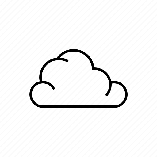 cloud, nature, weather icon