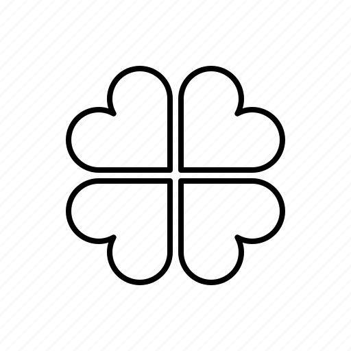 clover, leaf, nature icon