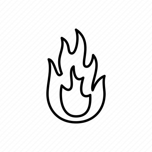 fire, hot, nature icon