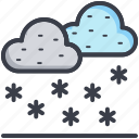 cloud, weather, winters, snowfall, forecast
