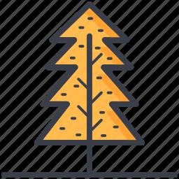 evergreen tree, fir tree, larch tree, pine tree, tree icon