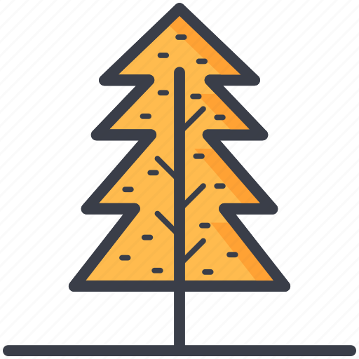 evergreen tree, fir tree, larch tree, pine tree, tree icon