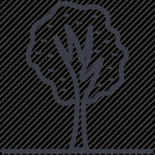 Greenery, nature, park, shrub tree, tree icon - Download on Iconfinder