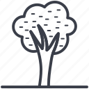 ash, oak, shrub, tree, weeping willow icon