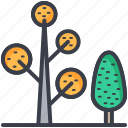 cypress, dotted leaf, generic plants, plants, trees icon