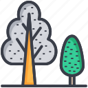 eco, generic trees, nature concept, trees, trees drawing icon