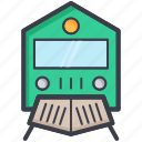 passenger train, railway transportation, retro train, train, voyage