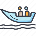 boat, boating, ship, summer, travel icon