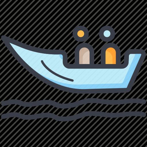 boat, boating, ship, summer, travel icon