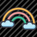 dream, fantasy, rainbow, rainbow curve, spectrum