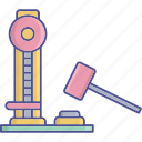 industrial equipment, industrial scale, scale, weighing icon