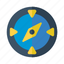compass, fish, marine, nautical, sea icon