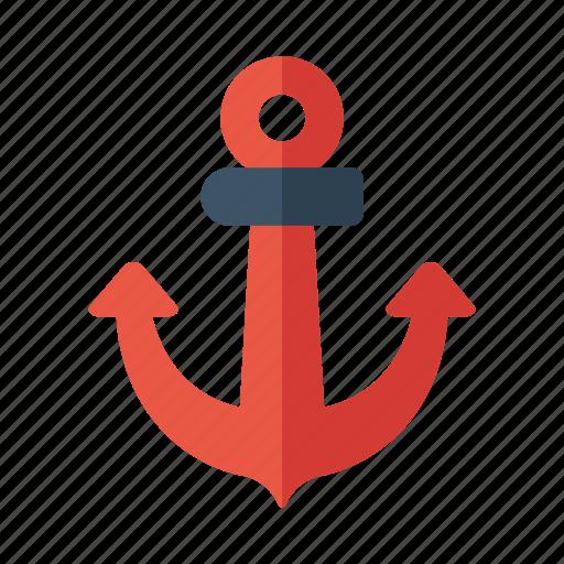anchor, fish, marine, nautical, sea icon
