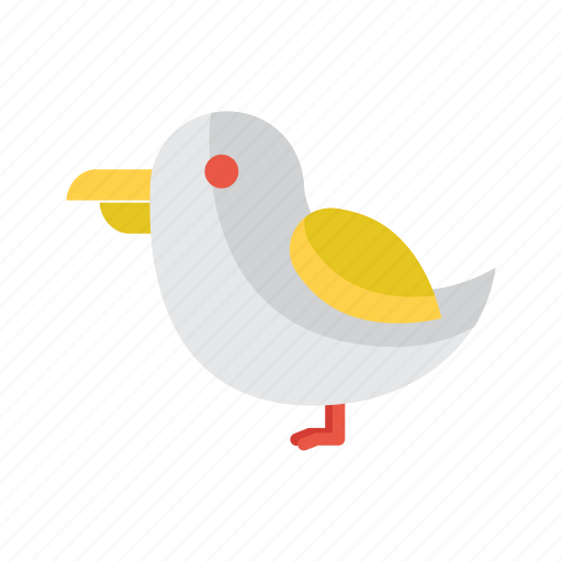 bird, fish, marine, nautical, sea icon