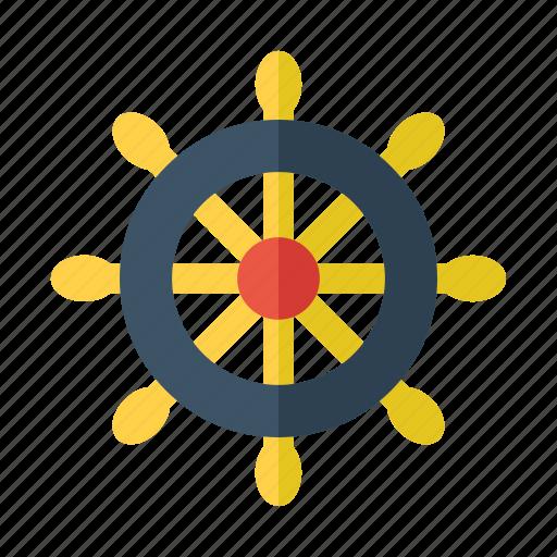 boat, fish, marine, nautical, sea icon
