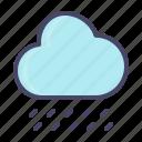 cloud, forecast, rain, raining, rainy, weather icon
