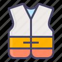 boat, jacket, life, safety, sail, sea, ship
