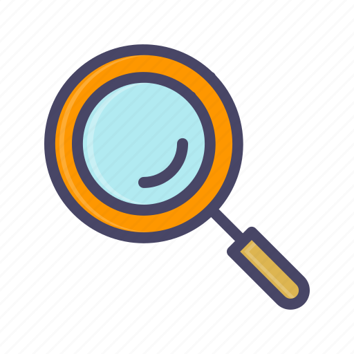 find, glass, look, magnifier, magnifying, zoom icon