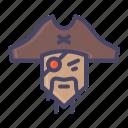 pirate, sea icon