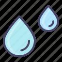 drop, ocean, rain, water, drizzle