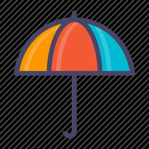 rain, umbrella icon