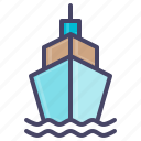 boat, cruise, nautical, ocean, sail, sea, ship icon