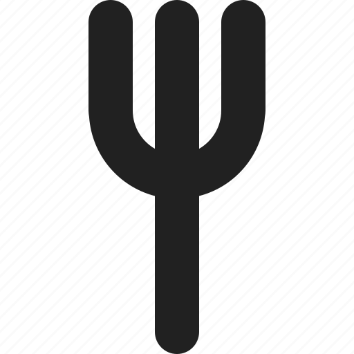 fork, meal, restaurant icon