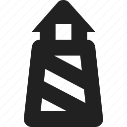 lighthouse, ocean, sea icon