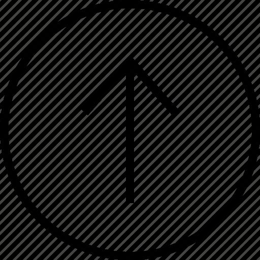 arrow, good, interface, navigation, ui, up, user icon