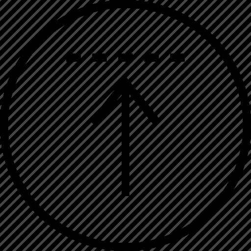 Up, upload, ui, user, arrow, interface, navigation icon