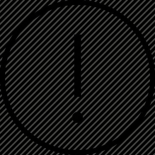 exlcamation, interface, mark, navigation, sign, ui, user icon