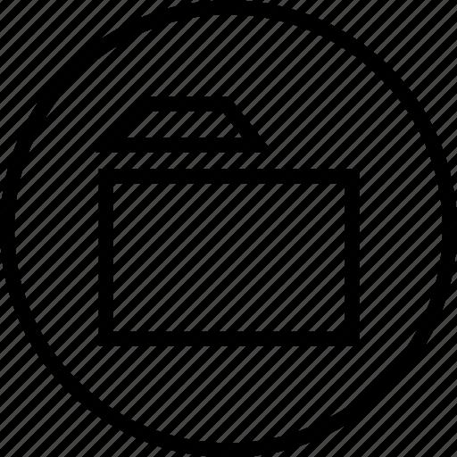 archive, folder, guardar, interface, navigation, save, ui, user icon