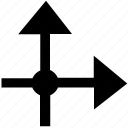 axis, coordinates, metrics, ox, oy icon