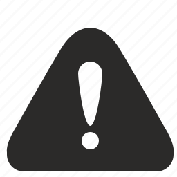 attention, danger, error, navigation, warning icon