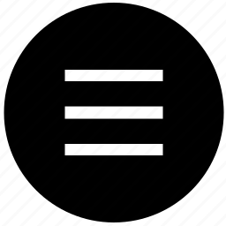 adaptive, bar, menu, navigation, round icon