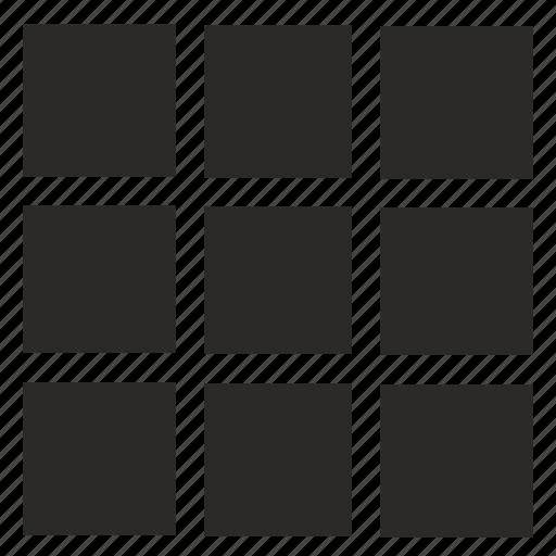 Menu, navigation, square, tile, ui icon - Download on Iconfinder
