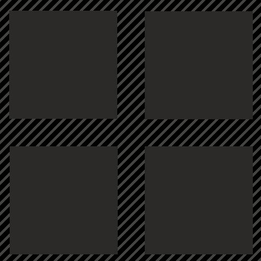 menu, navigation, square, tile, ui icon