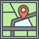 app, map pointer, navigation icon