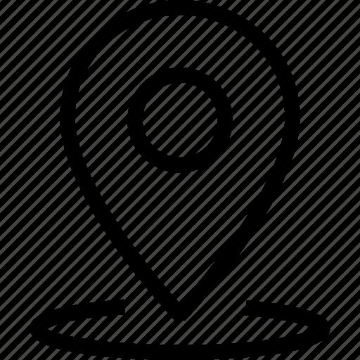 locate, location, map, marker, pin icon