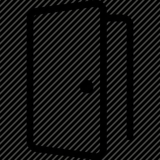 door, entrance, exit, exit door, logout, sign in out icon