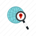 direction, jps, map, navigator, pin, road, search icon